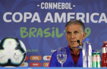 [VIDEO] ¡Fuerza David! El mensaje de Carlos Queiroz a David Ospina