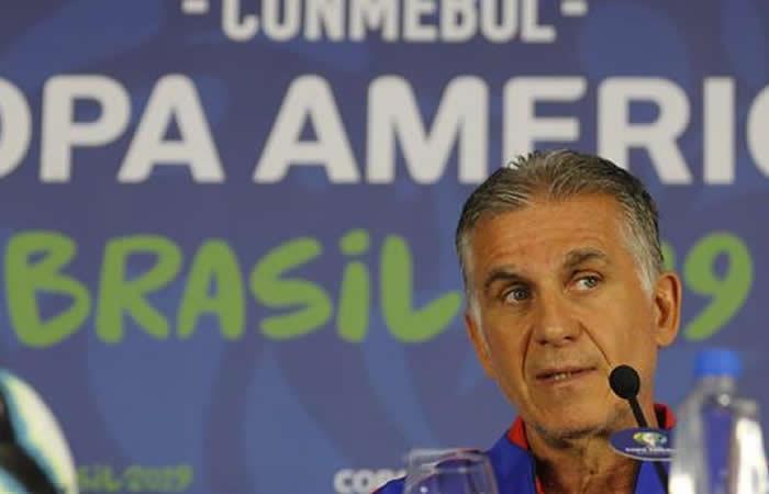 Copa América: En rueda de prensa Carlos Queiroz señaló al VAR