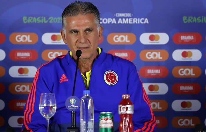 Copa América: Queiroz definió once de Colombia ante Paraguay