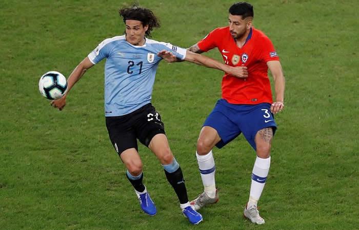 Copa América: Chile será el rival de Colombia luego de caer ante Uruguay