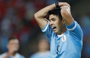 [VIDEO] ¿Se está 'volviendo loco' Luis Suárez en la Copa América?