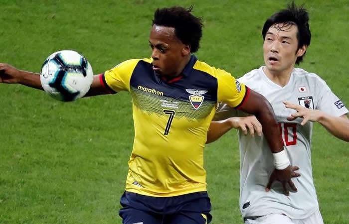Ecuador y Japón empatan, ayudan a Paraguay y se quedan fuera de la Copa