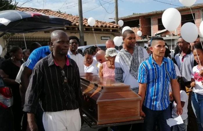 Entierro de líder asesinada en Córdoba