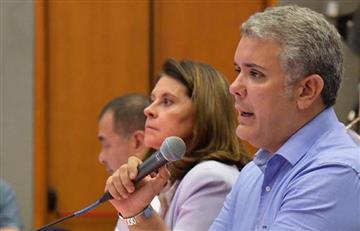 Iván Duque promete más de un billón de pesos para contrarrestar emergencia en la vía al Llano