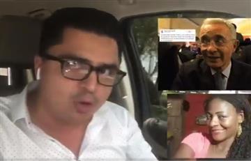 """""""Es el líder natural del paramilitarismo"""": Críticas de un usuario de Twitter contra Uribe"""