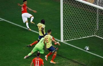 ¿Estuvo bien anulada la jugada de gol en el partido Colombia vs. Chile?