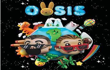 J Balvin y Bad Bunny unen su talento en 'Oasis'