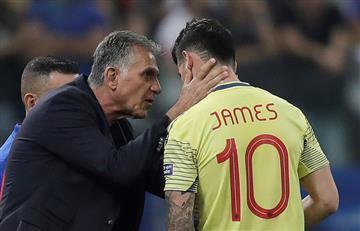 """""""Argentina estaba muerta y pasó, nosotros quedamos fuera"""", James Rodríguez"""