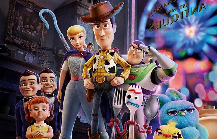 La cuarta entrega de Toy Story es todo un éxito en taquillas