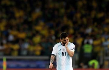 """[VIDEO] """"Se cansaron de cobrar boludeces en esta Copa"""" Lionel Messi contra el VAR"""