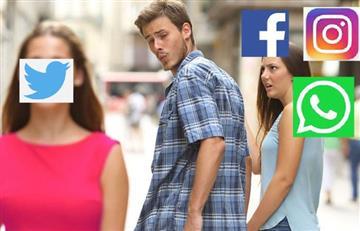 ¡Todos a Twitter! Facebook, WhatsApp e Instagram reportan caídas a escala mundial