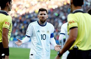 [VIDEO] Argentina gana un partido caliente ante Chile y es tercera de la Copa América