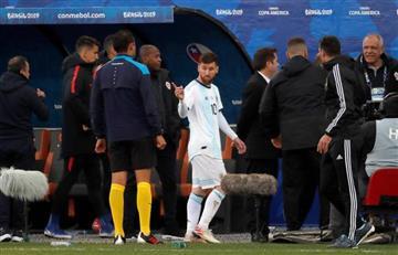 """[VIDEO] ¡No se guardó nada! """"La corrupción ha salpicado el torneo"""", Messi"""