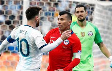 [VIDEO] ¡Pelea, pelea! Así fue la expulsión de Messi en la Copa América