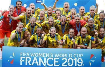[VIDEO] ¡Partidazo! Suecia derrota a Inglaterra y queda tercera en el Mundial Femenino