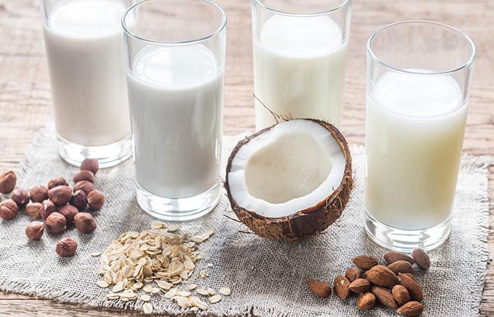 Como sustituir la leche de coco
