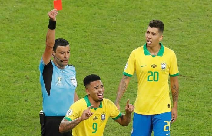 Copa América: El desconsuelo de Gabriel Jesús