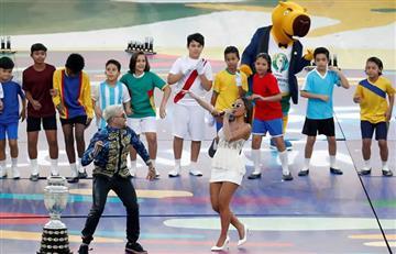 Así fue la ceremonia final de la Copa América