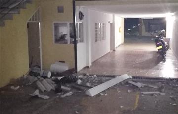 [VIDEO] Explosiones azotaron edificio de la Fiscalía General en Ocaña, Norte de Santander