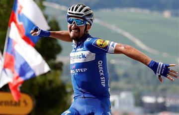 [VIDEO] Julian Alaphilippe gana la 3era etapa del Tour de Francia
