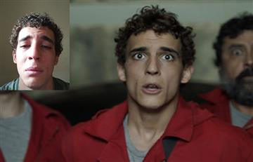 Actor de 'La Casa de Papel' sube un video llorando desconsoladamente ¿Qué le pasó?