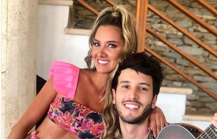 Daniela Álvarez fue objeto de burla por su reacción al ver a Sebastián Yatra