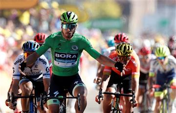 [VIDEO] Peter Sagan, vencedor en la 5ta etapa del Tour de Francia