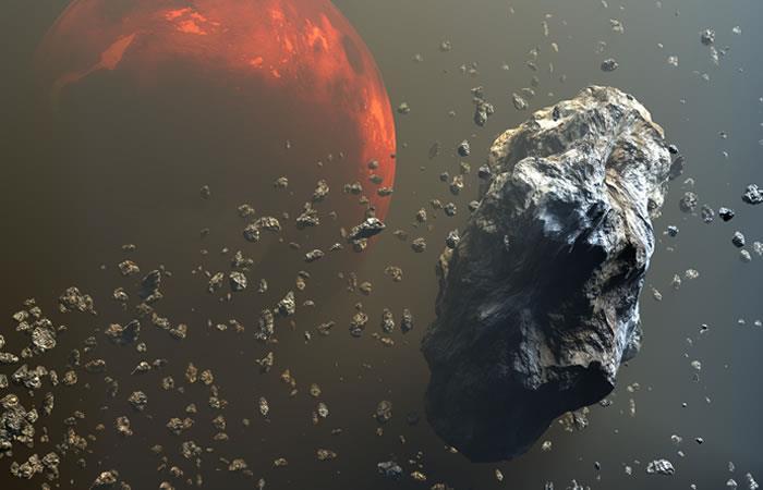 Asteroide es monitoreado por peligrosidad
