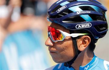 "[VIDEO] ¡Ojo, Nairo! El inesperado ""problema"" que casi le pasa factura a Quintana en la séptima etapa"