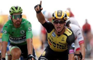 [VIDEO] ¡Con foto finish! Groenewegen vence en la 7ma etapa del Tour de Francia