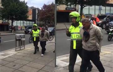 [Video] Aparente robo terminó en fuerte tiroteo cerca al Parque el Virrey de Bogotá