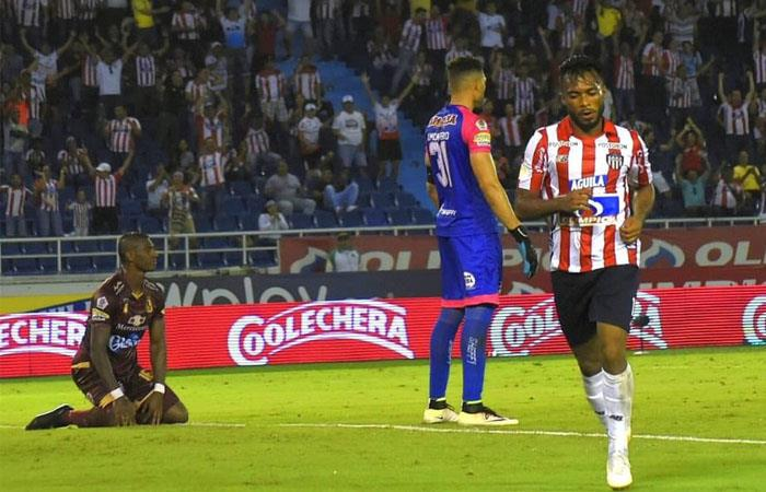 Junior le ganó a Tolima primera fecha liga águila II