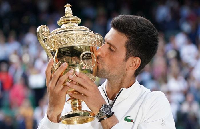 Novak Djokovic declaraciones al ser campeón de Wimbledon