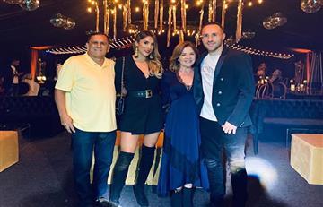 Este fue el último viaje del padre de Daniela y David Ospina con su familia