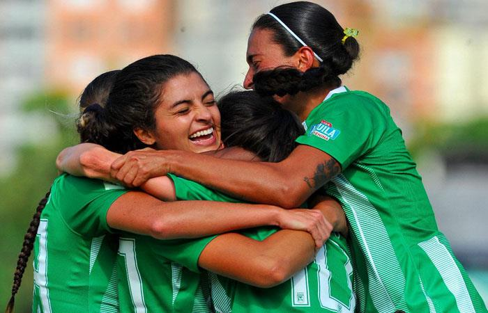 Atlético Nacional arrancó con victoria la Liga Águila Femenina. Foto: Twitter