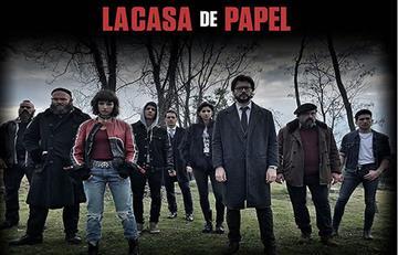 ¡Protagonistas de 'La Casa de Papel' están en Bogotá!