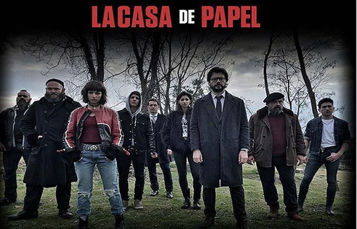 Protagonistas de 'La Casa de Papel'. Foto: Instagram