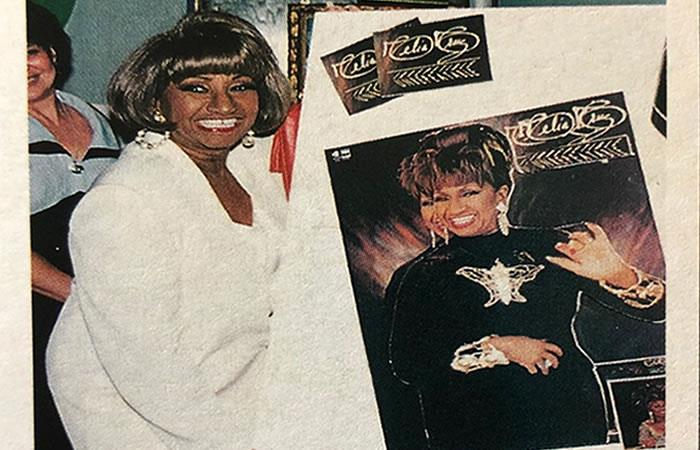 Hace 16 años despedimos a la Reina de la salsa, Celia Cruz