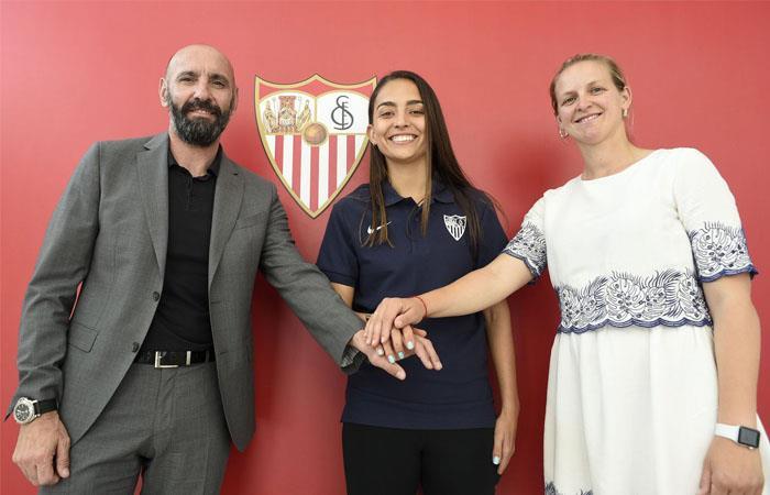 Isabella Echeverri jugará en uno de los grandes equipos de España. Foto: Twitter