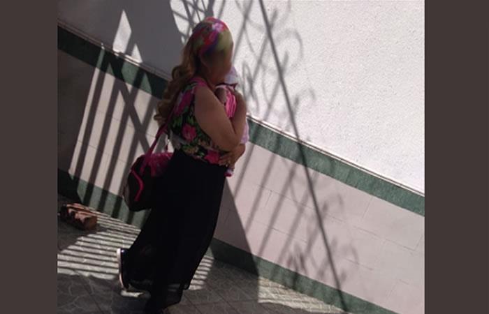Confirman el rescate de bebé raptada en el centro de Medellín