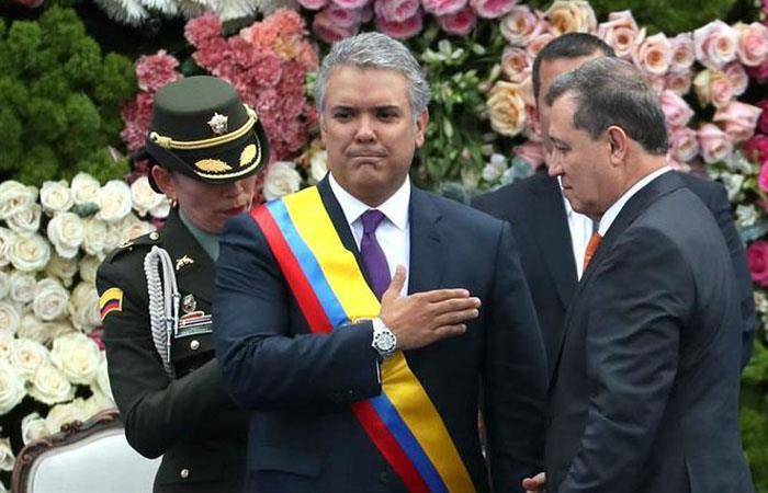 Iván Duque aumentó sueldo de congresistas en Colombia