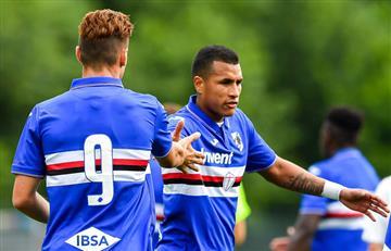 [VIDEO] Jeison Murillo marcó su primer gol con Sampdoria en un ¡15-0!