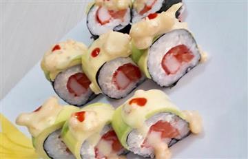 Fusionan la gastronomía colombiana con el sushi: así lo hacen