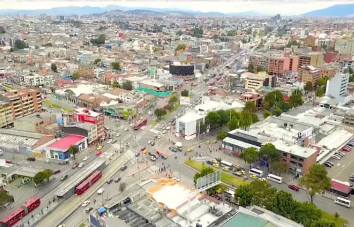 Avances del Metro en Bogotá