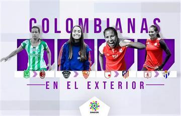 ¡Conócelas! Estas son las embajadoras del fútbol femenino colombiano en Europa