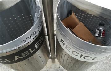 ¿Falta de cultura ciudadana? La polémica que han generado las nuevas canecas de basura en Bogotá