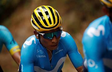 Las cosas no están bien para Nairo Quintana en el equipo Movistar