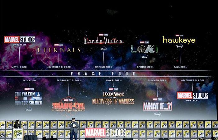 Estas serán las producciones de la cuarta fase del MCU