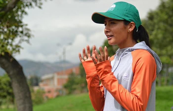 Juegos Panamericanos 2019: Angie Orjuela atleta colombiana medalla oro maraton femenina