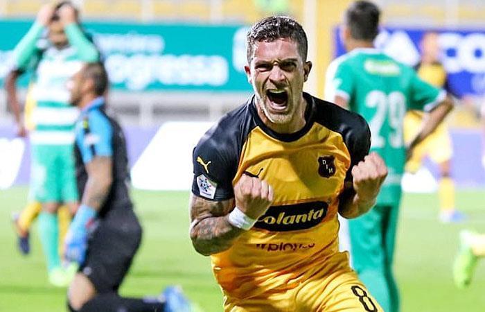 Adrián Arregui marcó el gol del triunfo. Foto: Twitter